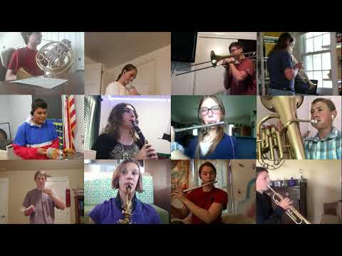 Homedale Middle School Virtual Band: Stand By Me