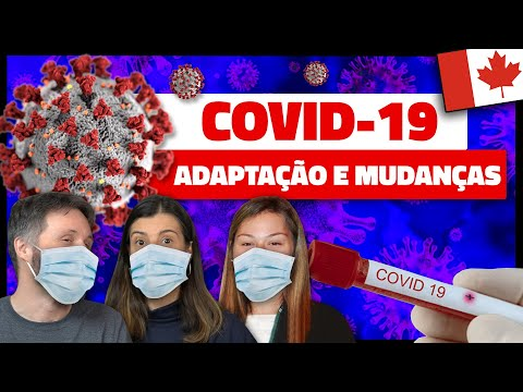 IMPACTO NA VIDA DURANTE A PANDEMIA DE CORONAVÍRUS COVID-19 NO CANADÁ - com Gabriela Ghisi