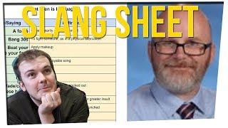 High School Teacher Keeps Spreadsheet Of Slang (Ft. Kingsley)
