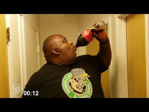 "2 Liter Soda Chug Inspired By Brandon ""Da Garbage Disposal"" Clark"