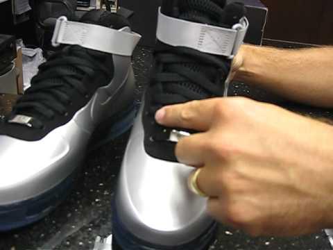Nike Air Force 1 Foamposite - Metallic
