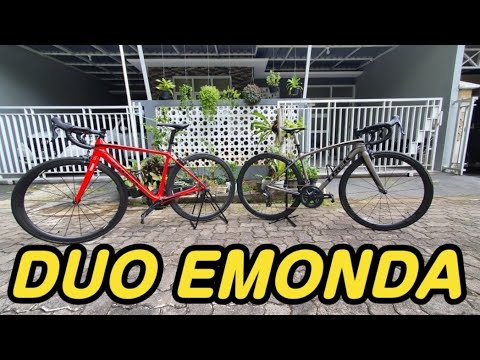 𝙍𝙚𝙫𝙞𝙚𝙬 𝙏𝙧𝙚𝙠 𝙀𝙢𝙤𝙣𝙙𝙖 𝙎𝙇 6 𝙥𝙧𝙤 & 𝙀𝙢𝙤𝙣𝙙𝙖 𝙎𝙇 sepeda roadbike