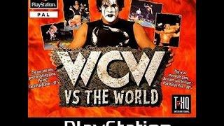 Retro Wrestling Games Presents.. WCW vs The World PS1