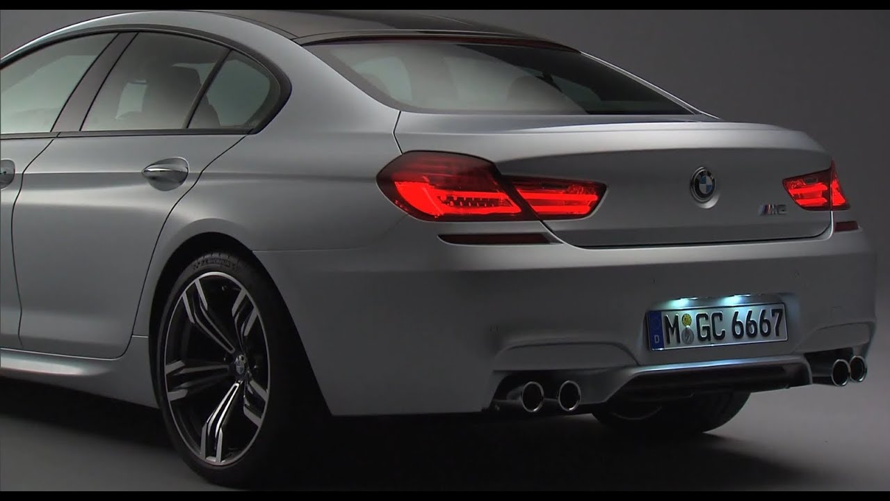 & WORLD PREMIER: BMW M6 Gran Coupe 4-Door Sedan 2013 - YouTube Pezcame.Com