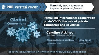Remaking international cooperation post-COVID: The role of private companies and countries