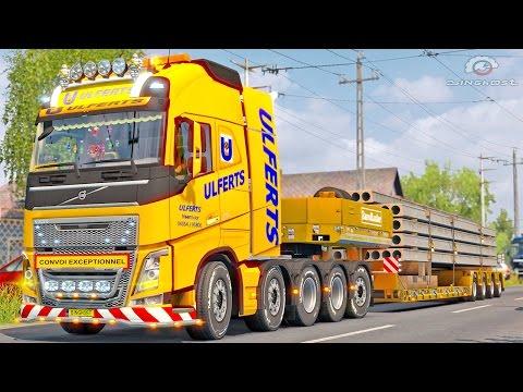 Volvo FH 10×4 ETS2 (Euro Truck Simulator 2)