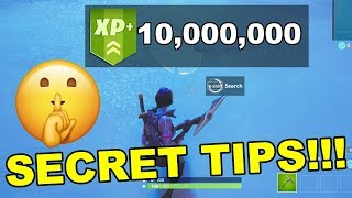 Top 5 SECRET TIPS pour se rendre à LEVEL 100 FAST Fortnite Saison 9 (fr) Fortnite Battle Royale Saison 9