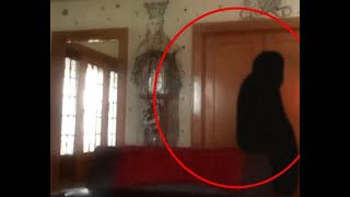 Shadow Figure Ghost Caught On Camera In Old Funeral Home