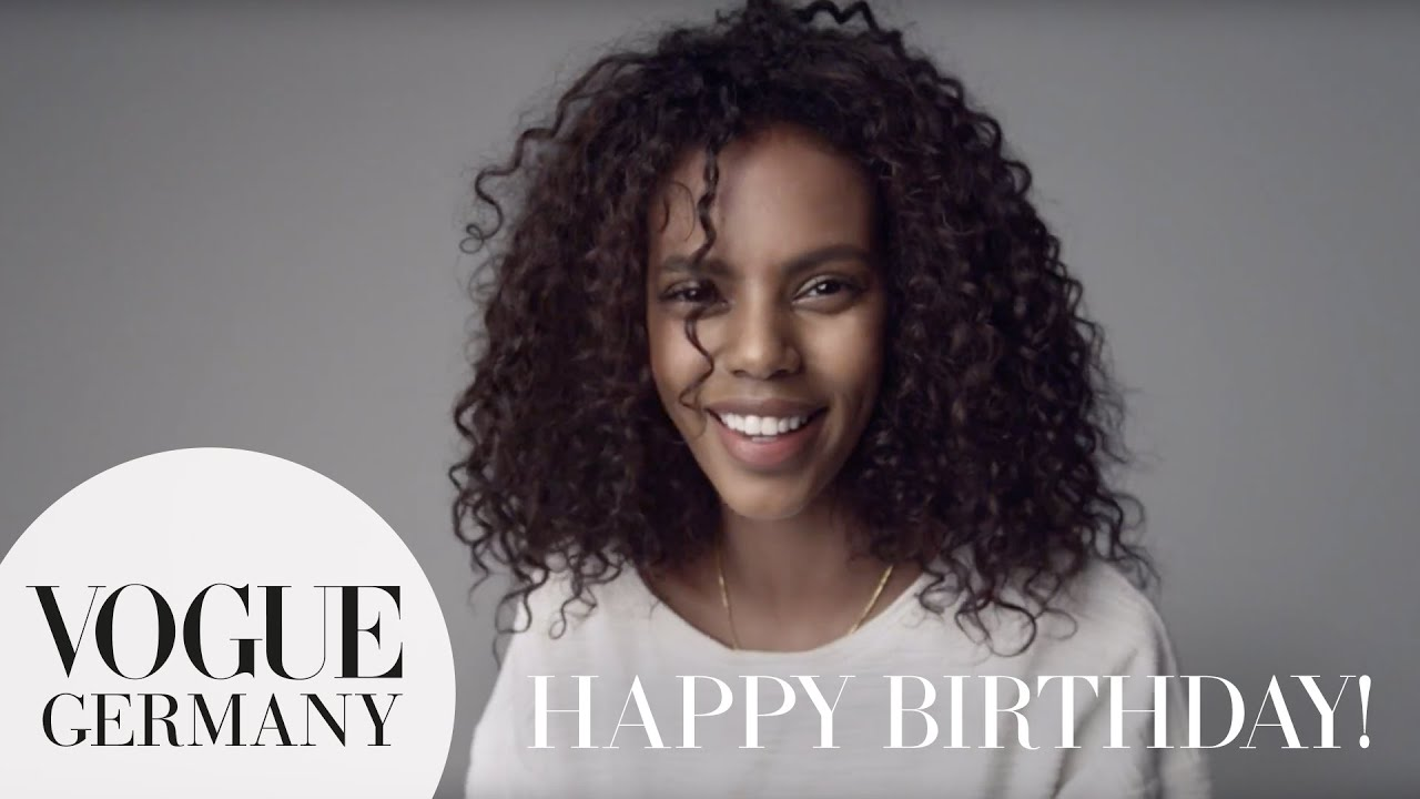 Happy Birthday – A Message for you by Grace Mahary for VOGUE