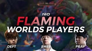 Flaming Worlds Players ft. Deft, Smeb, PraY, Pawn, Froggen, and Snoop Dogg