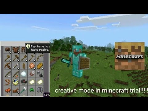 How To Play Creative Mode On Minecraft Trial On 2020 1.14.30