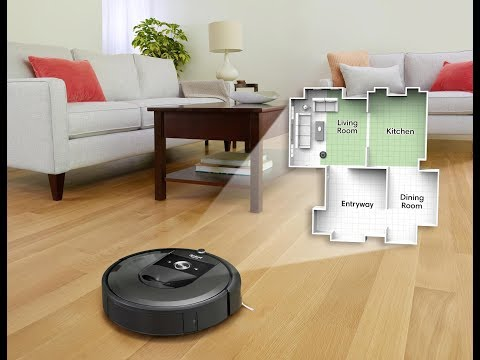 Roomba i7 Features Persistent Maps, Selective Room Cleaning