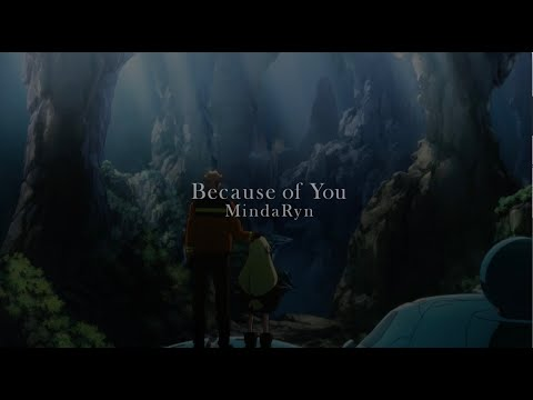 MindaRyn - Because of you (TVアニメ『サクガン』挿入歌) | Lyric Video Short Version