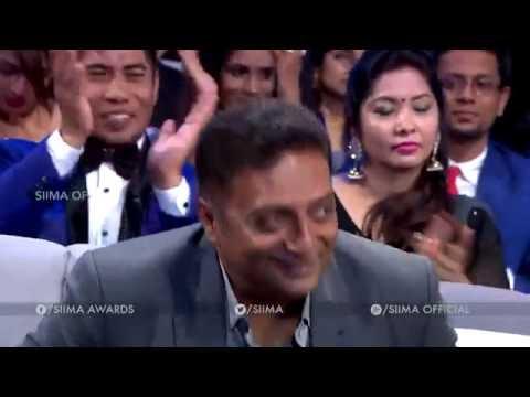 SIIMA 2016 Best Supporting Actor (Male) Tamil | Prakash Raj - Ok Kanmani