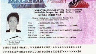 HOW TO CHECK VISA AND WORK PERMIT FOR MALAYSIA