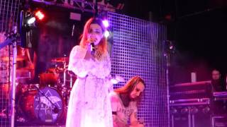 Lacuna Coil : You Love Me 'Cause I Hate You @ Manchester Academy 2, 16/11/2016