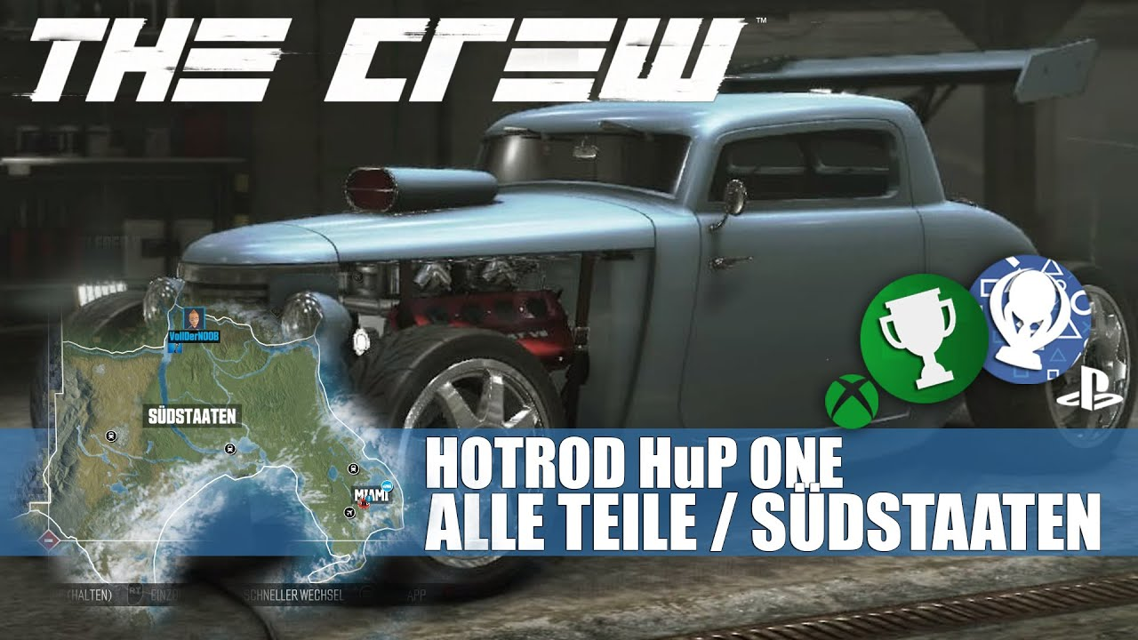 The Crew - Alle versteckten Fahrzeugteile/All Hidden Car Parts ...