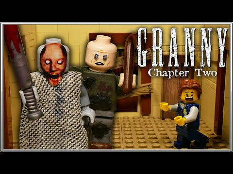 LEGO Мультфильм Granny Глава 2 - Horror Game Granny Chapter 2