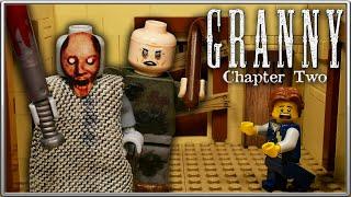 LEGO Мультфильм Granny Глава 2 - Horror game Granny Chapter 2