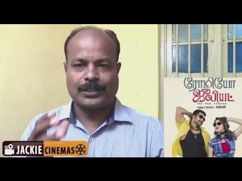 Romeo Juliet movie Review by jackiesekar   Jayam Ravi   Hansika   Poonam Bajwa
