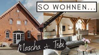 SO WOHNEN...Mascha und T๐bi   Stylishes DIY Loft im alten Kuhstall in der Nähe von Bremen