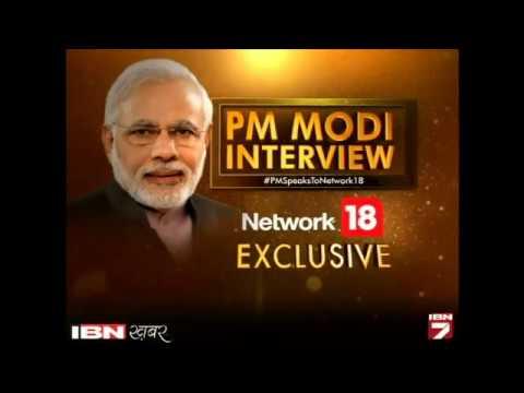 IBN7 Par PM Narendra Modi Ka Sabse Vyapak Interview