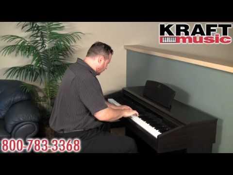 Kraft Music  Yamaha Arius YDP181 Digital Piano Demo