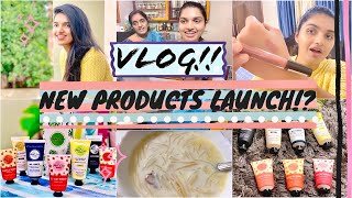 #Vlog|New Products Launch!?|Not Sponsored|The Palm Care Company!?|Mini Nykaa Haul,Best Lipsticks||