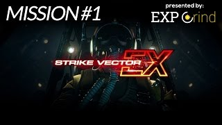 Strike Vector EX - Mission 1 - PS4 Gameplay Walkthrough - No Commentary