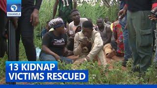 Police, Vigilante Rescue 13 Kidnap Victims In Edo State