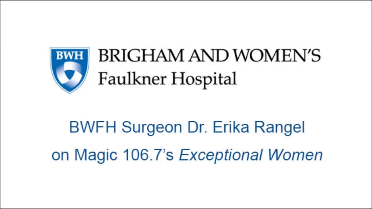Dr  Erika Rangel on Magic 106 7's Exceptional Women