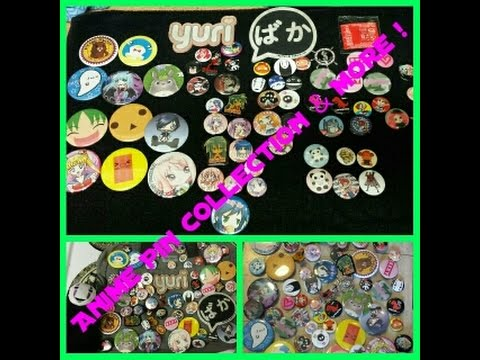 Anime Pin Collection + Decorating my Otaku/Nerd Bag