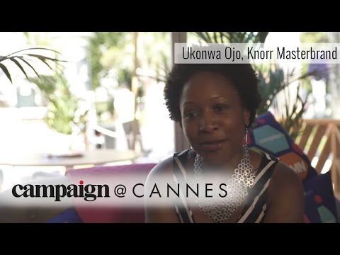 Ukonwa Ojo loves coming to Cannes Lions