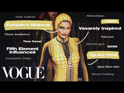 Inside Jean Paul Gaultier's '95 Fall / Winter Fashion Show - 25 Years Later | Best Show Ever | Vogue