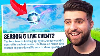 The Season 5 Live Event Just Got Leaked!