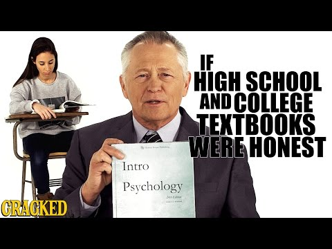 The Naked Truth About High School & College Textbooks