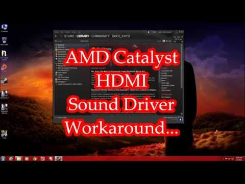 Fix the HDMI sound hijack issue with AMD video drivers