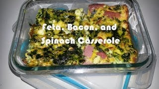 Fgsw - Breakfast Casserole Recipe: Spinach, Feta, & Turkey Bacon