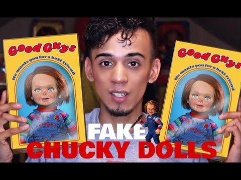FAKE VS REAL CHUCKY DOLL + CHUCKY DOLL GIVEAWAY | EDGAR-O