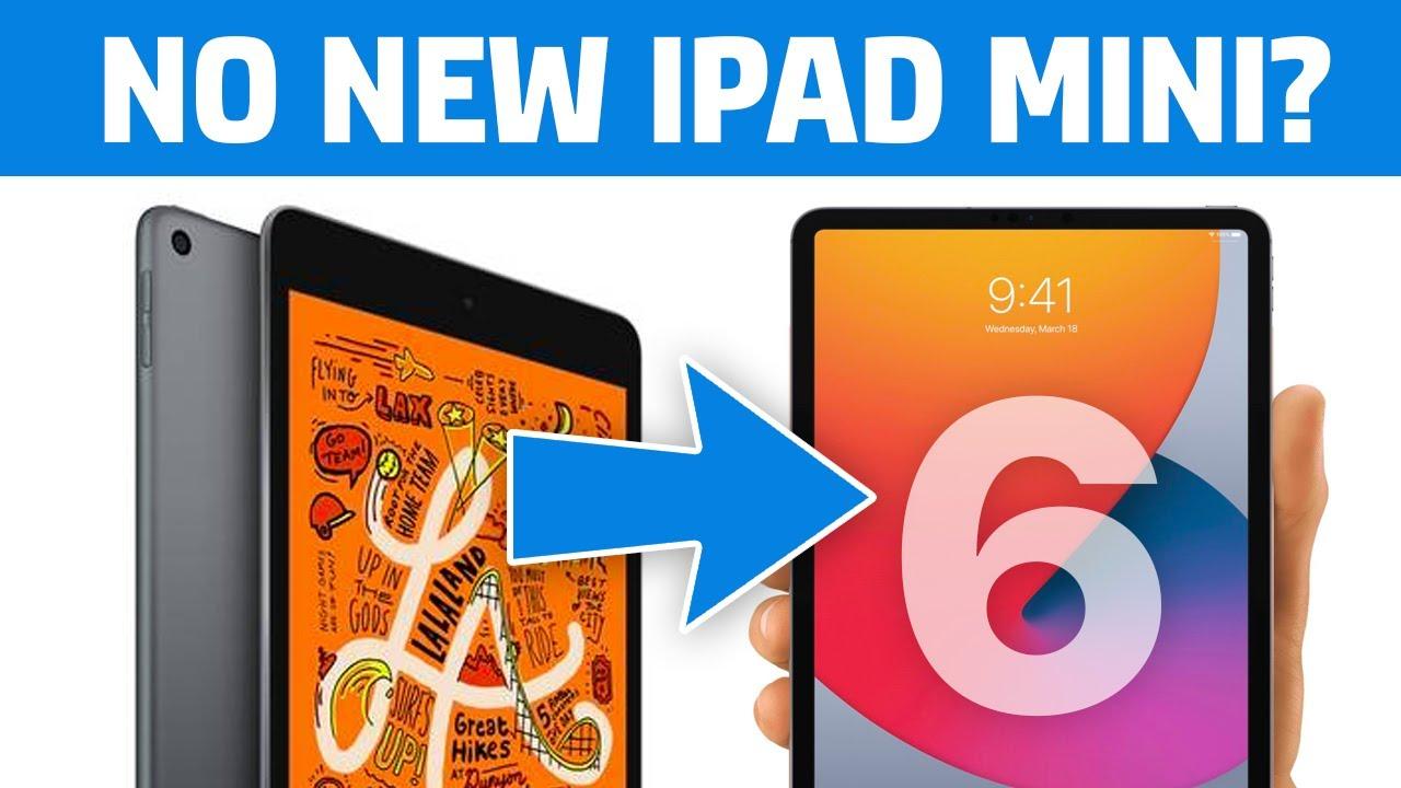 iPad Mini 6 is Coming in 2021