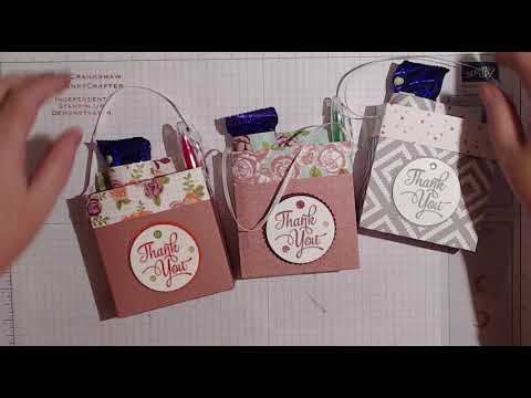 christmas craft fair idea using the little gift bags