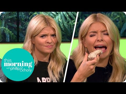 I'm A Celebrity Gossip - A Bushtucker Trial Drop Out and Holly Tries Bug Bread! | This Morning
