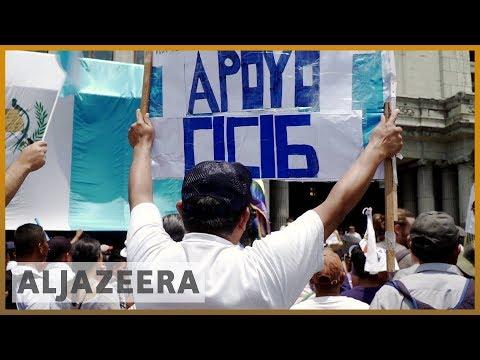 🇬🇹 Guatemalans protest against Morales' annulment of CICIG | Al Jazeera English