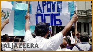 🇬🇹 Guatemalans protest against Morales' annulment of CICIG   Al Jazeera English