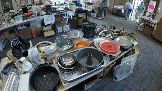 Rummage Sale MADNESS - Finding TREASURES at Church Sales!