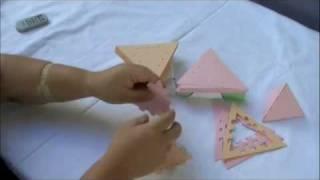 デルタ多面体 - 6面体(Polyhedron Card)