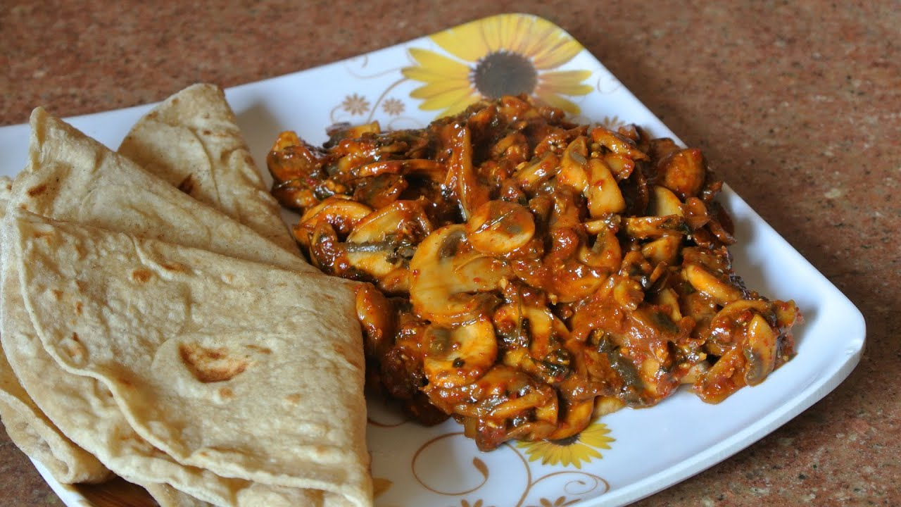 Tandoori mushroom recipe vegan youtube forumfinder Choice Image
