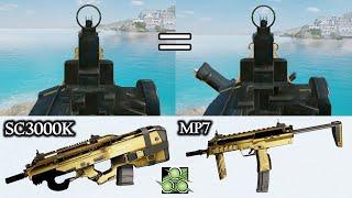 SC3000K의 기계식 조준경이 MP7과 같다는 사실을…