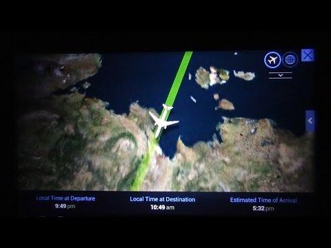 ArcticOcean北冰洋SiberiaСибирь西伯利亞Mongolia蒙古China中国from Dallas--Hong Kong polar flight: #2 2015-04-16
