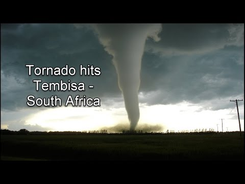 Tornado Tembisa - South Africa July 2016 (rare sighting for South Africans)